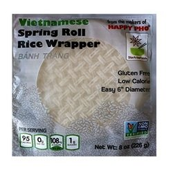 Star Anise Spring Roll Rice Wrapper (12x8oz)