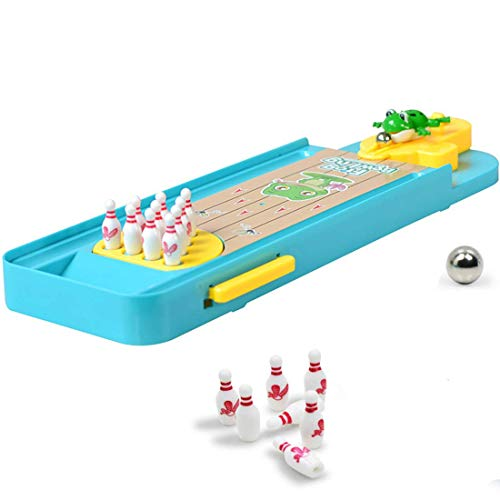 Easygame Mini Bowling Set, Table Top Bowling Toy