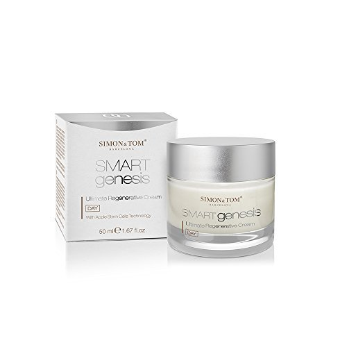 Simon & Tom Smart Genesis Ultimate Regenerative Cream - Advanced Anti Aging, Anti Wrinkle Day Cream with Apple Stem Cells Complex 50 ml/1.67 fl.oz. - Regenerative Cell