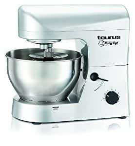 TAURUS 913516000 - Batidora Amasadora Taurus Mixing Chef 1200W.3 Accesorios