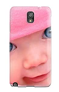 ZippyDoritEduard Galaxy Note 3 Well-designed Hard Case Cover Blue Eye Baby Cute Protector