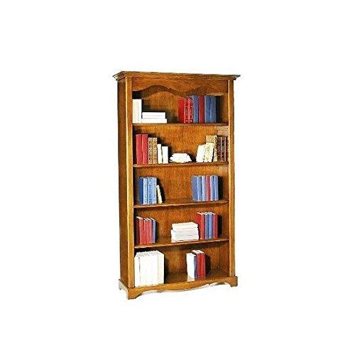 4 opinioni per Antiche Riproduzioni Libreria noce tanganica cm 120x40, h 210