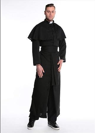 XSQR Negro Capa Halloween Cosplay Disfraz De Virgen María Servicio ...