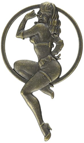 Dark Horse Deluxe Bettie Page Girl of Our Dreams Sculpted Metal Pin