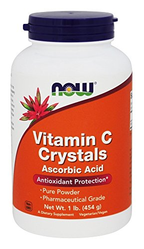 NOW, Vitamin C Crystals 1 lb