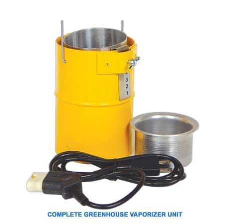 Vaporizer, Greenhouse Grade, Complete Unit