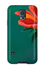 New Aline Malka Super Strong Earth Flower Tpu Case Cover For Galaxy S5