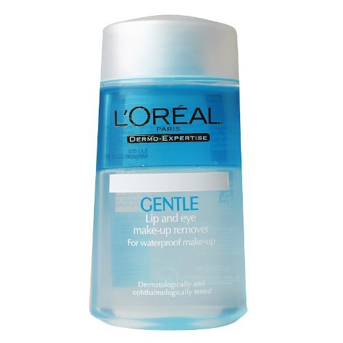 New L'oreal Dermo-Expertise Gentle Lip And Eye Make-Up Remover 125ml/4.2oz (L Oreal Dermo Expertise Gentle Eye Makeup Remover)