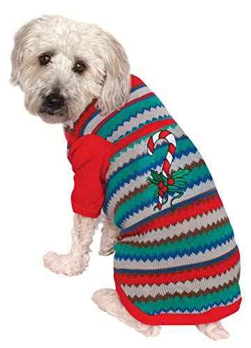 Rubie's Ugly Sweater with Candy Cane, -