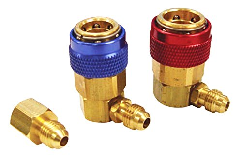 Wilk R-12 to R-134a Conversion Quick Connect Coupler Tank Adapter Set