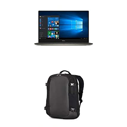 Dell | XPS9350-5342GLD 13.3 Inch QHD+ Touchscreen Laptop Bundle | Dell Premier Backpack