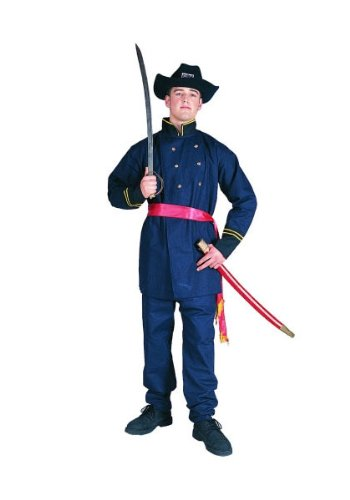 RG Costumes 80102 Union Officer Costume - Size Adult (Civil War Costumes For Sale)