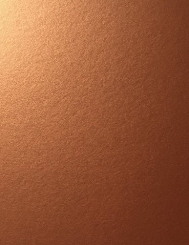 Copper Stardream Metallic Cardstock Paper - 8.5 X 11 inch - 105 lb. / 284 GSM Cover - 25 Sheets from Cardstock Warehouse