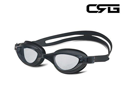 CRG Sports BLACK UV Protection Anti Fog Adjustable Swim Swim