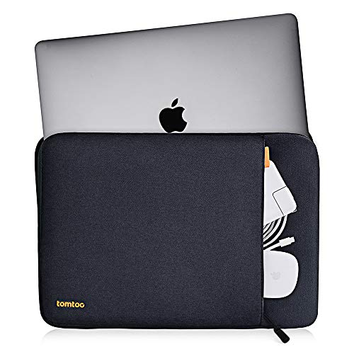 tomtoc 360 Protective Sleeve for 15.6 Inch Acer Aspire E 15, 2020 New Dell XPS 17Laptop, 15.6 HP Dell Asus Lenovo Samsung Laptop Chromebook, Spill-Resistant Notebook Bag Case with Accessory Pocket