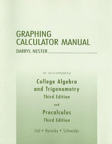 Graphing Calculator Manual