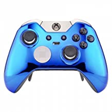 """""""Chrome Blue"""" Xbox One ELITE Rapid Fire Modded Controller 40 Mods for COD BO3, Destiny, GOW 4 Quickscope, Jitter, Drop Shot, Auto Aim, Jump Shot, Auto Sprint, Fast Reload and Much More"""