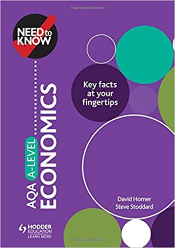 Need to Know: AQA A-level Economics: Amazon co uk: David