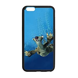 iPhone 6 Plus Case, [Ice Age] iPhone 6 Plus (5.5) Case Custom Durable Case Cover for iPhone6 TPU case(Laser Technology)