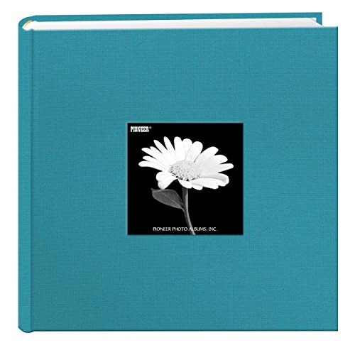 Pioneer Photo Albums Holds 200 Photos, Turquoise Blue, 4 x 6
