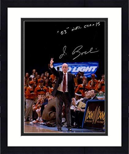 Framed Jim Boeheim Signed