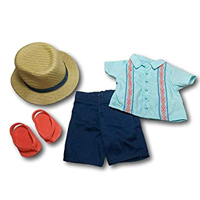 American Girl - Sun & Fun Outfit for Boy Dolls - Truly Me 2020: Toys & Games