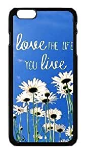Alexgeorge Love the Life You Live Custom Phone Case Cover For Apple iphone 5c