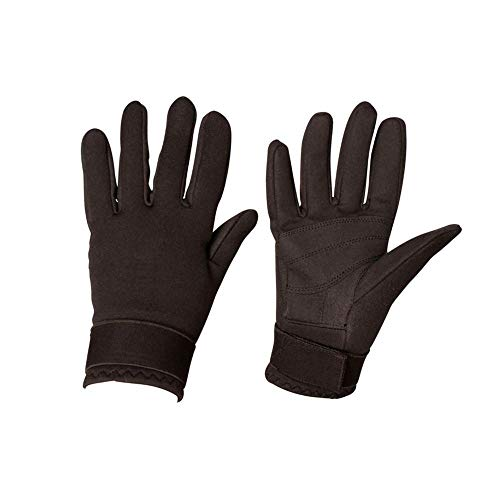 - Weatherbeeta, Dublin, Everyday Neoprene Water Resistant Riding Gloves, Black, Small
