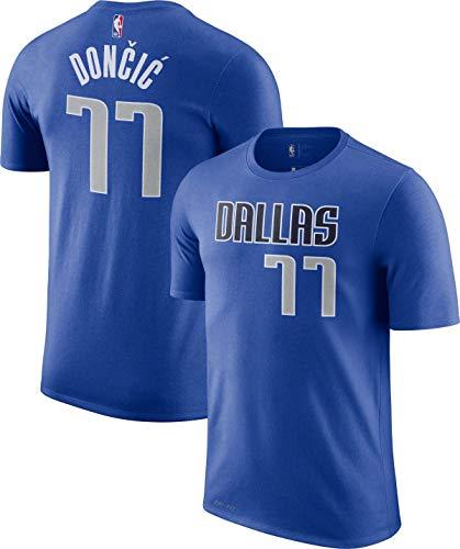 Outerstuff Luka Doncic Dallas Mavericks #77 Blue Youth Name & Number Player T-Shirt (Medium 10/12)