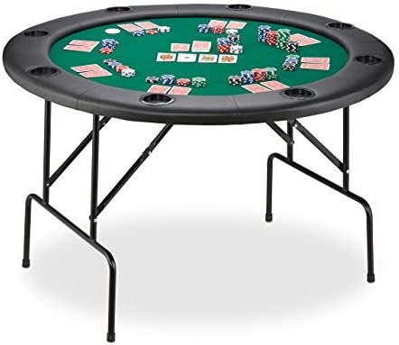 Relaxdays Mesa Plegable para Poker, Black Jack, Ruleta y Casino ...