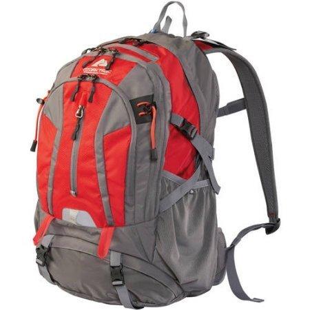 36L Kachemak Daypack Hiking Backpack, Red
