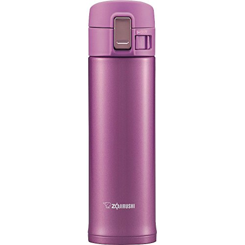 Zojirushi SM-KB48VJ Stainless Steel Travel Mug, 16-Ounce/0.48-Liter, Lilac