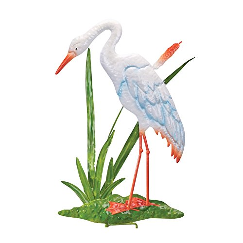 Crane Wall Decor Garden Stake