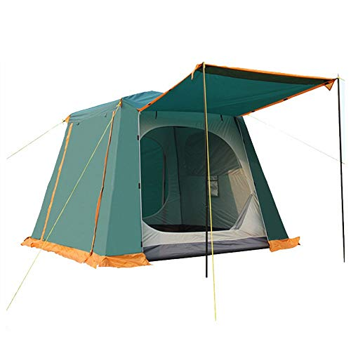 WUYOU Tents & Shelters Outdoor Camping Multi-Person Tent 5-8 People Double-Decker Camping Tent Multi-Person Outdoor Tent