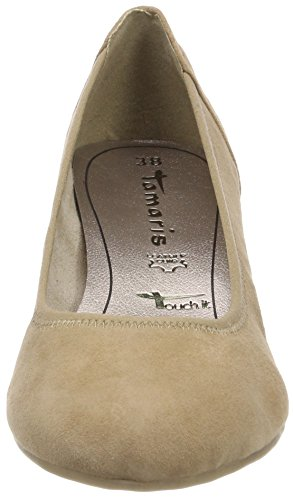 antelope Pumps toe Suede 22320 Tamaris Women''s Closed Brown xnYCCa