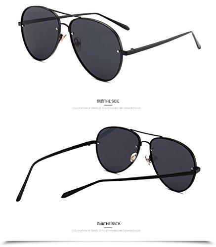 de de et hommes lunettes noir Lunettes technolog Senior De Lunettes 2018 femmes Box soleil polarisantes Black lunettes nouvelles qbling miroir wIvwAq