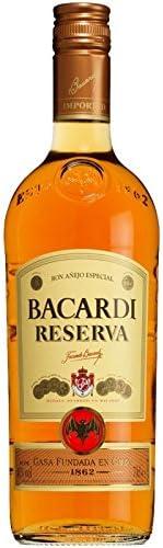 Ron - Bacardi Reserva 100 cl: Amazon.es: Alimentación y bebidas