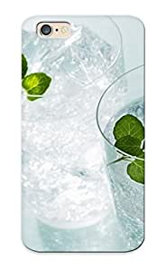 Hot Minty Water First Grade Tpu Phone Case For Iphone 6 Case Cover