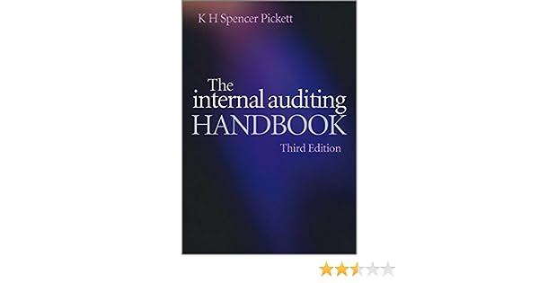 The internal auditing handbook k h spencer pickett 9780470518717 the internal auditing handbook k h spencer pickett 9780470518717 amazon books fandeluxe Images