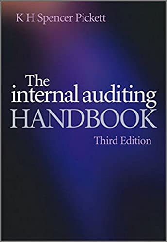 The internal auditing handbook k h spencer pickett 9780470518717 the internal auditing handbook 3rd edition fandeluxe Images