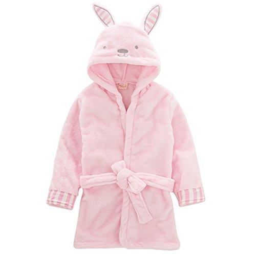 Vine Toddler Kids Bathrobe Hooded Nightgown Baby Sleepwear Robes Animal  Towel Pajamas 2b1ac2a30
