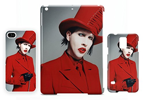 Marilyn Manson Red iPhone 4 / 4S cellulaire cas coque de téléphone cas, couverture de téléphone portable