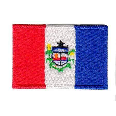 Patch Bordado - Bandeira De Alagoas Pequena BD50176-42P Termocolante