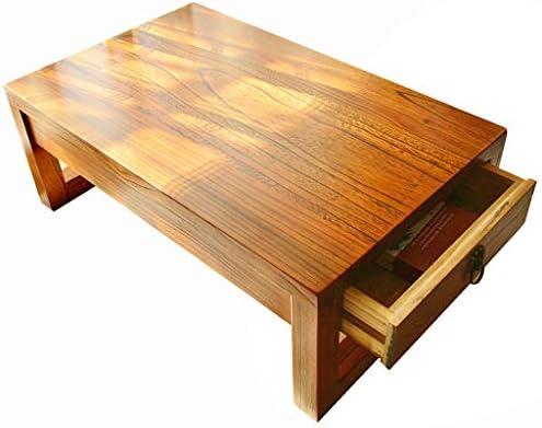 Coffee Table Solid Wood Tatami Tea Table Balcony Bay Window Table