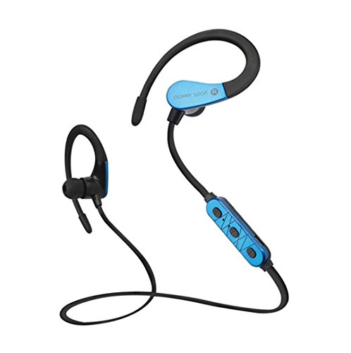 Price comparison product image Bluetooth Headphones, GBSELL Wireless V4.2 Sport Stereo In-Ear Headsets for Apple iPhone 7 / 7Plus Samsung Galaxy S7 and Android Phones (Blue)