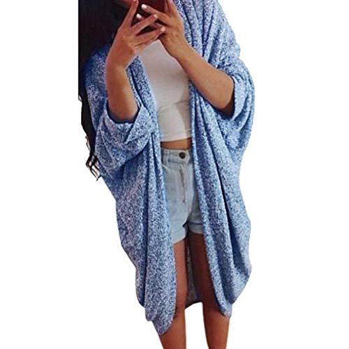 Merino Knit Long Cardigan - Knit Sleeve Sweater Cardigan Womens Lady Casual Coat Jacket