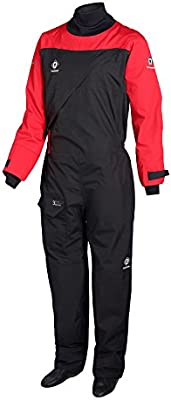 2018 Crewsaver Atacama Sport Drysuit Front Zip RED / BLACK 6555 ...