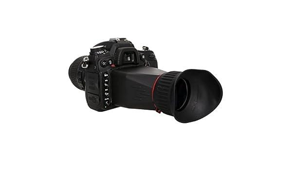 Meike - mk-vf100 a pantalla LCD Visor Extender para Canon 5d mark ...