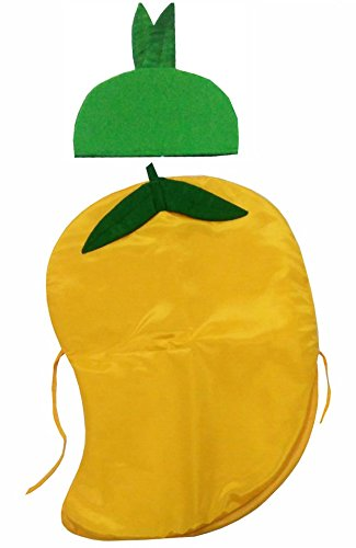 684d48dd49a52 Buy Fancy Steps Mango Fruit Vegetables Fancy Dress Costume for Kids Online  at Low Prices in India - Amazon.in