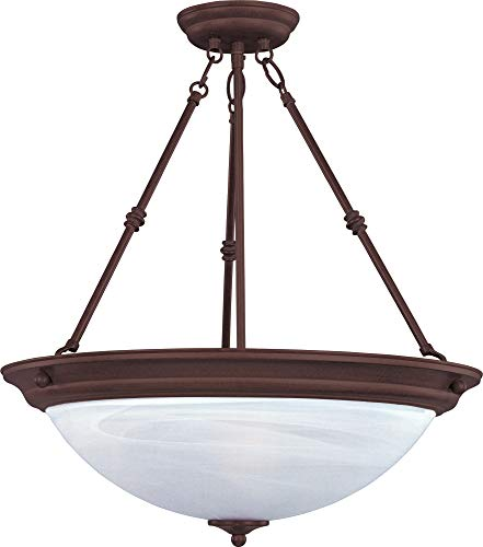 Circular Glass Pendant Light in US - 7
